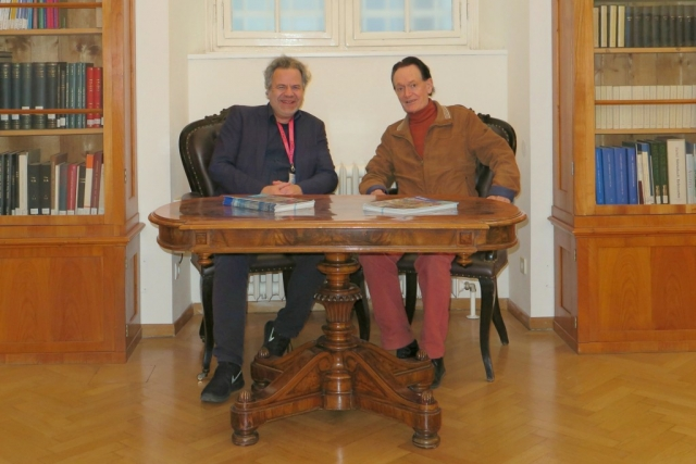 Oliver Grau and Martin Kemp | Re:Trace | Day 3| Austrian Academy of Sciences Vienna2
