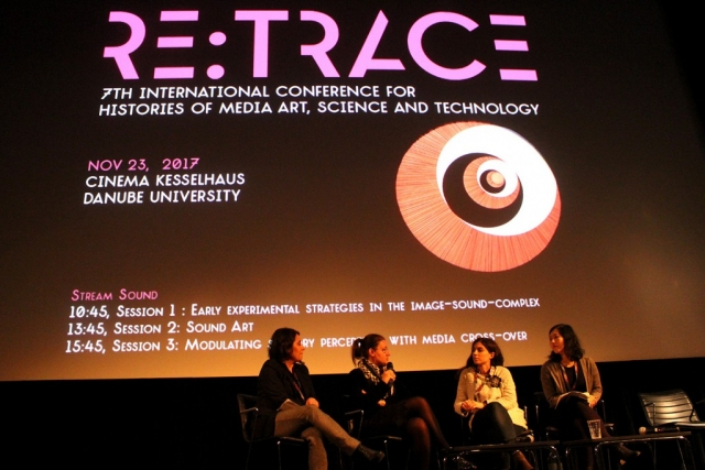 Sound Art Session chaired by Ana Peraica | Re:Trace | Day 1 | Danube University