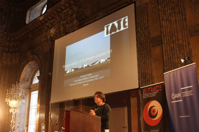Patricia Falcão | Re:Trace | Day 3| Austrian Academy of Sciences Vienna