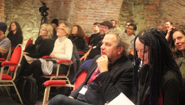 Conference Co-Chairs Oliver Grau and Inge Hinterwaldner | Re:Trace | Day 2 | Göttweig Abbey