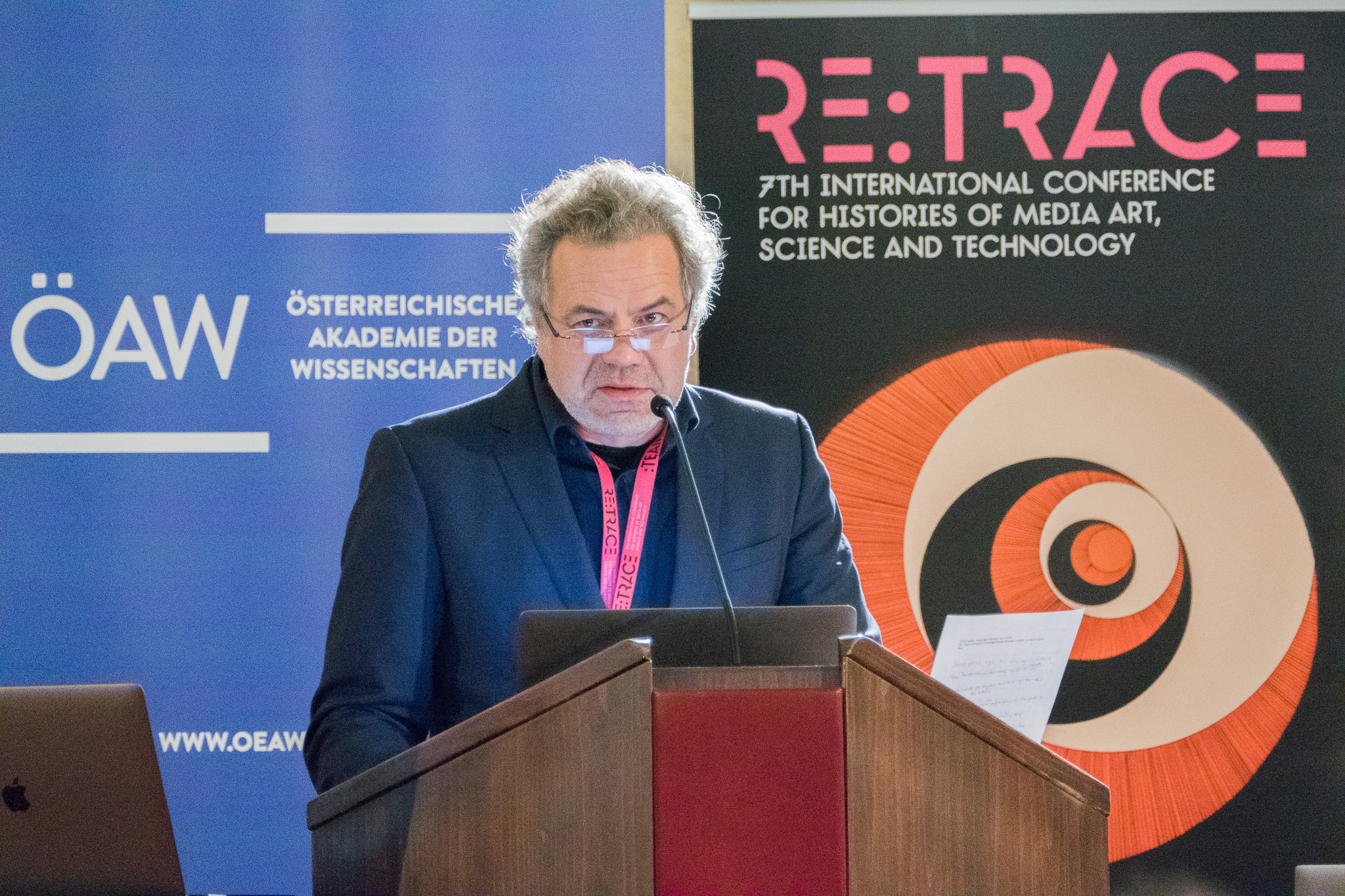 Oliver Grau | Re:Trace | Day 3| Austrian Academy of Sciences Vienna