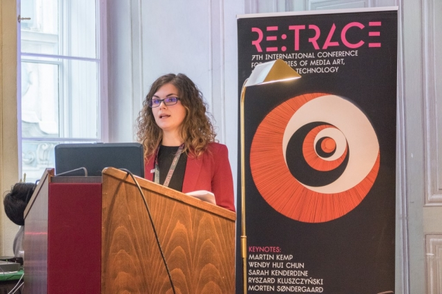 Beatriz Escribano Belmar| Re:Trace | Day 3| Austrian Academy of Sciences Vienna